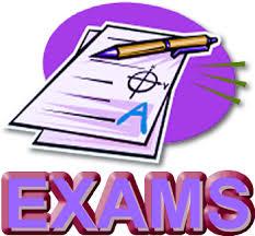 Final Exam Schedule Semester 1