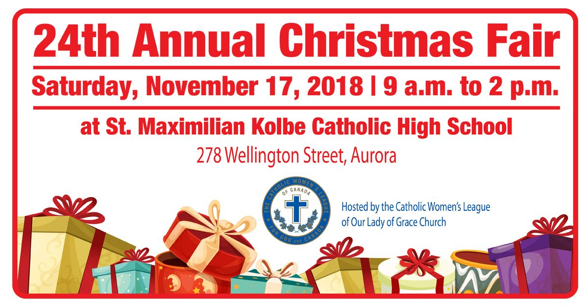 24th Annual Christmas Fair