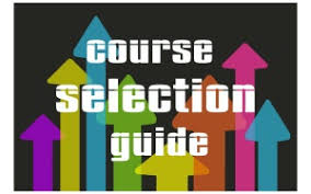 Instructions on Student Course Selection on my Blueprint