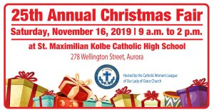 CWL Annual Christmas Fair