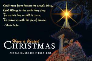 Elizabeth Crowe – Christmas Message
