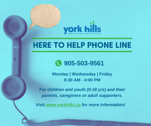 York Hills Here to Help Phone Line